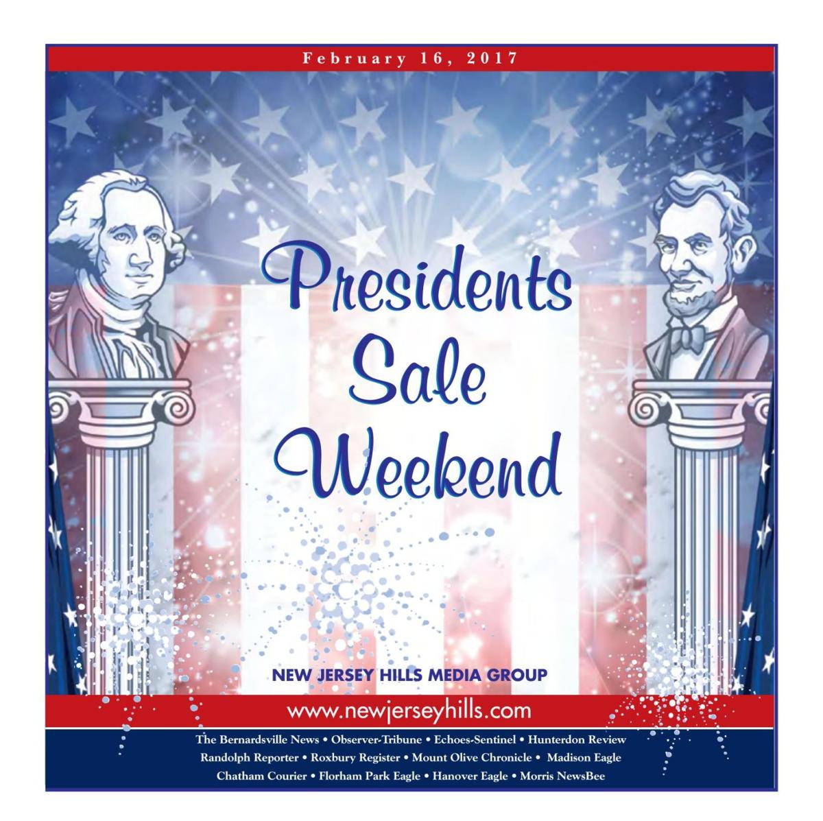 Presidents Day Sales - February 16, 2017