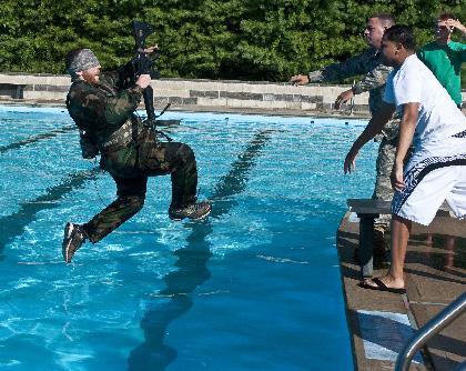 Training to be soldiers at Picatinny Arsenal