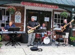 Friday night means jazz along Main Street in Town of Clinton