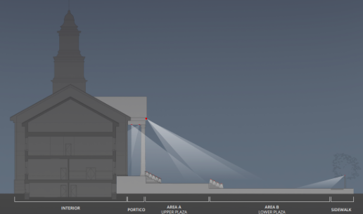 World-class lighting design planned for Madison's Hartley Dodge Memorial building