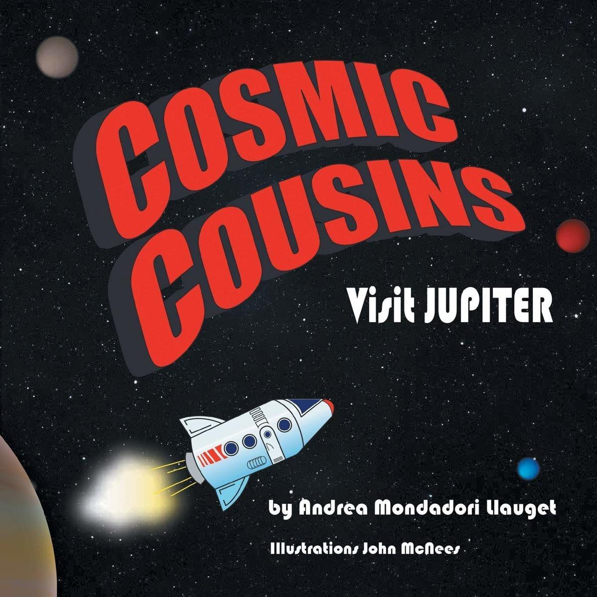 'Cosmic Cousins Visit Jupiter'
