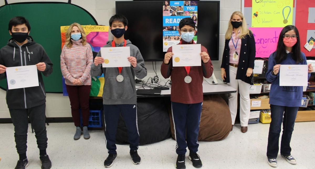 Warren Middle School students win awards in prestigious academic contest