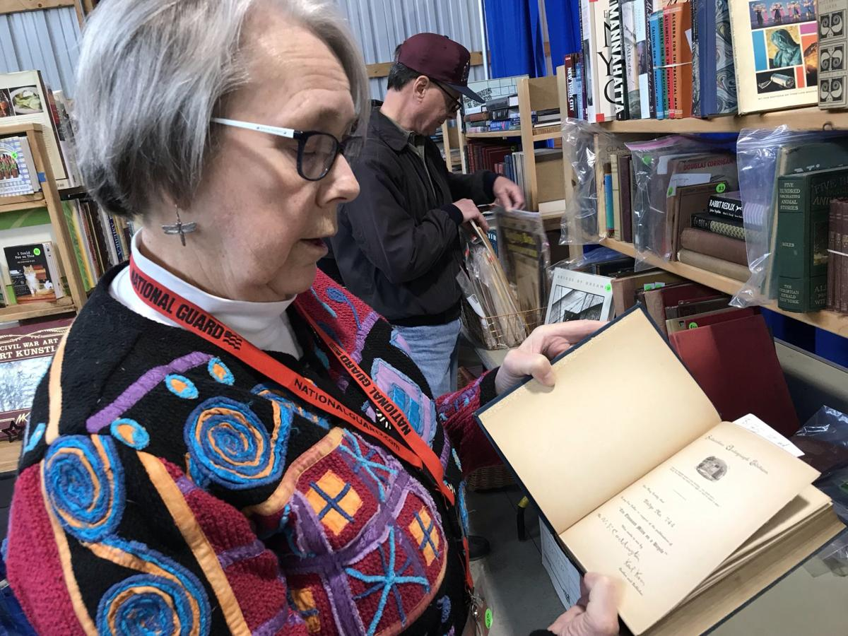 Library book sale again cracks 100,000 sold books
