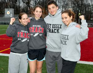 Wessex Winter Track Team, best turnout in years