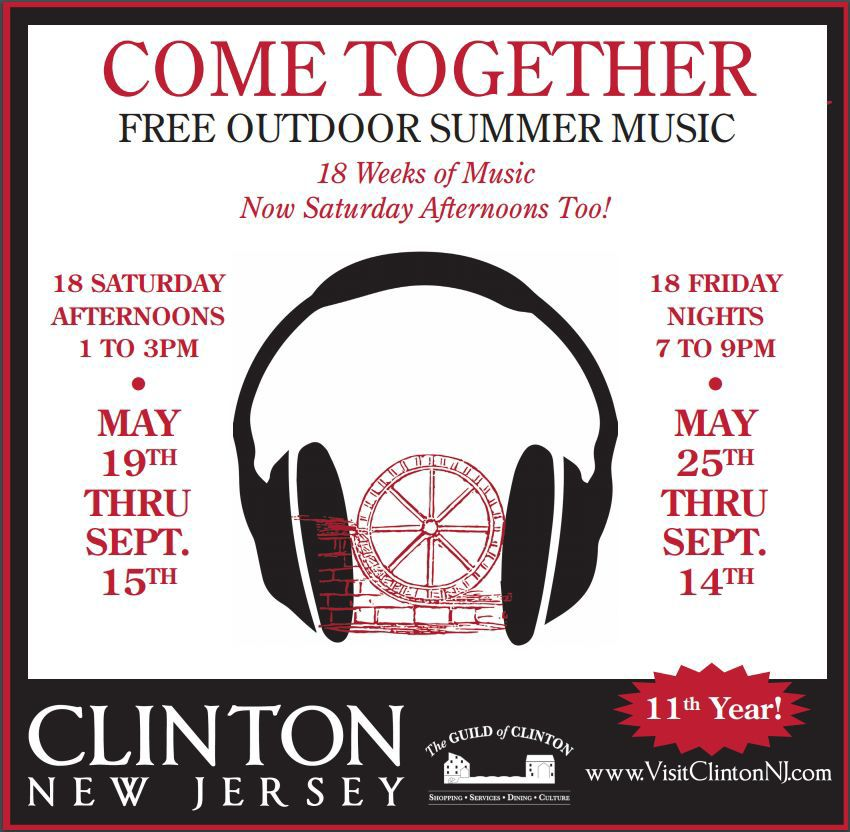 (VIDEO) Clinton's 'Come Together' free summer music festival is back on Fridays, Saturdays