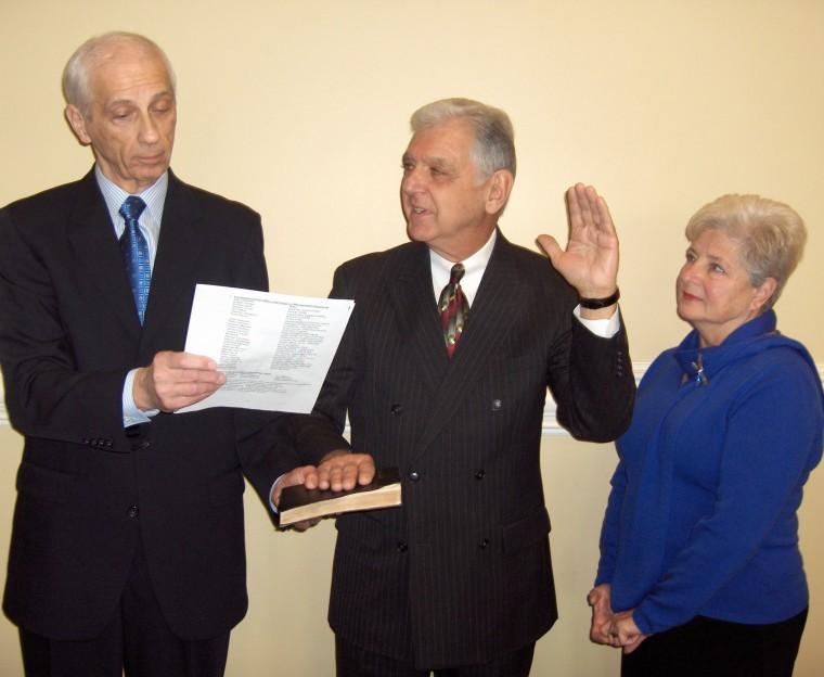 Francioli Sworn In