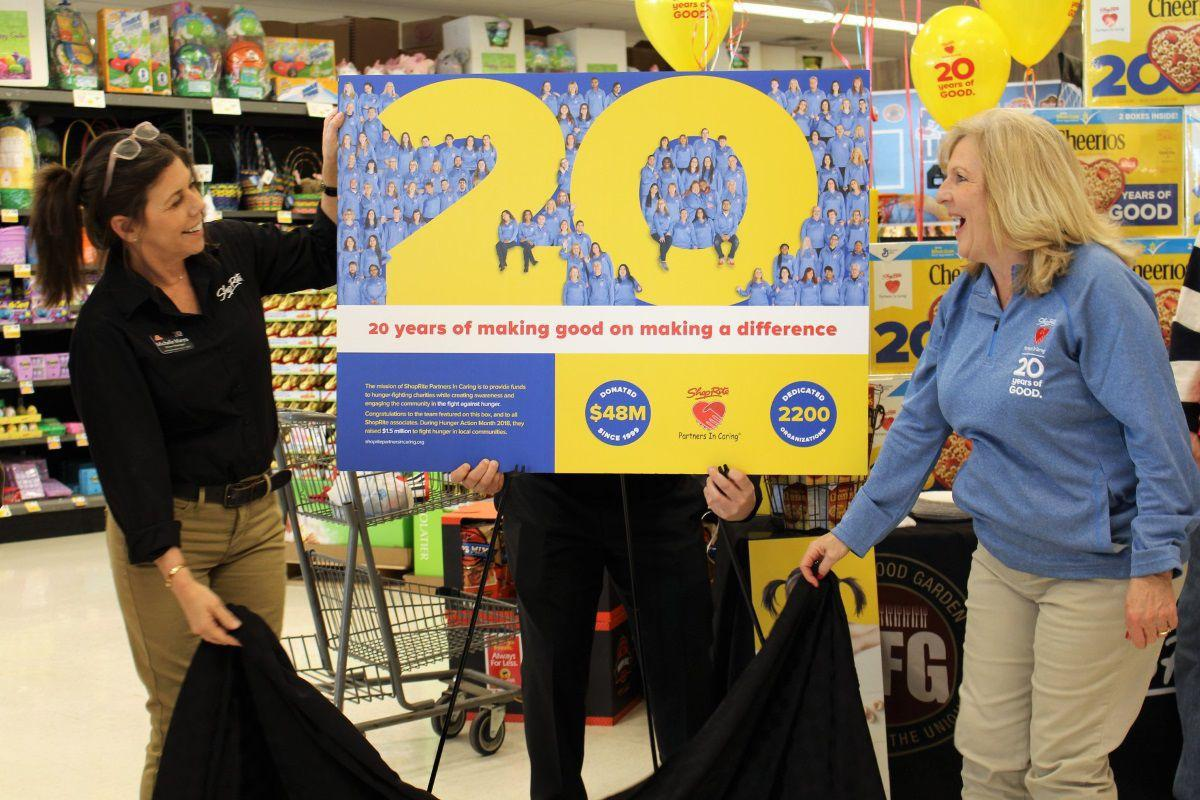 Stirling ShopRite employees featured on Cheerios box as store raises $20,000 to fight hunger