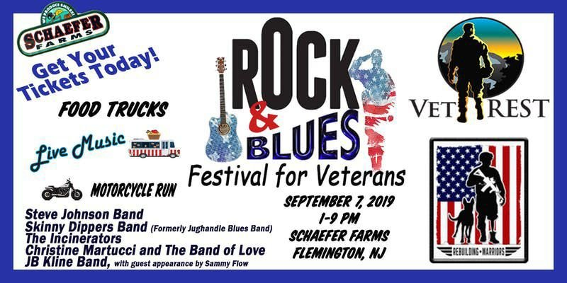 Schaefer Farms to host Rock & Blues Festival for Veterans on Saturday, Sept. 7