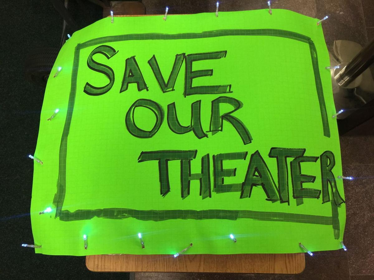SAVE THE THEATER!