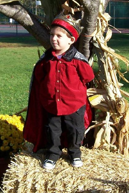 Crown prince at Harvest Fest