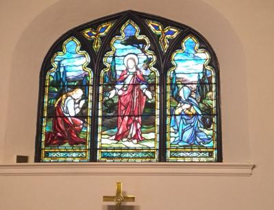Resurrection Window at All Saints' Episcopal Church