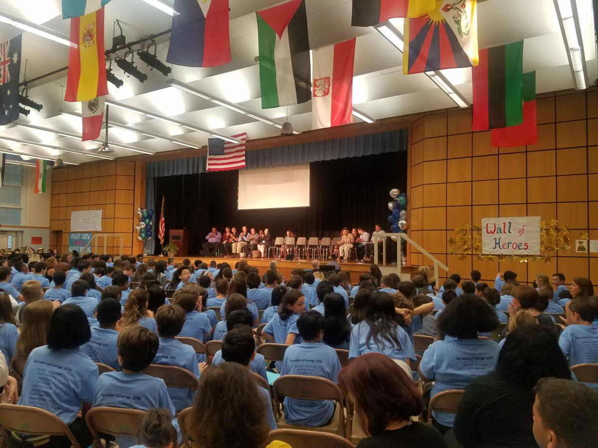 Watchung students learn about perseverance, hope through 'Narratives of Courage' (videos)