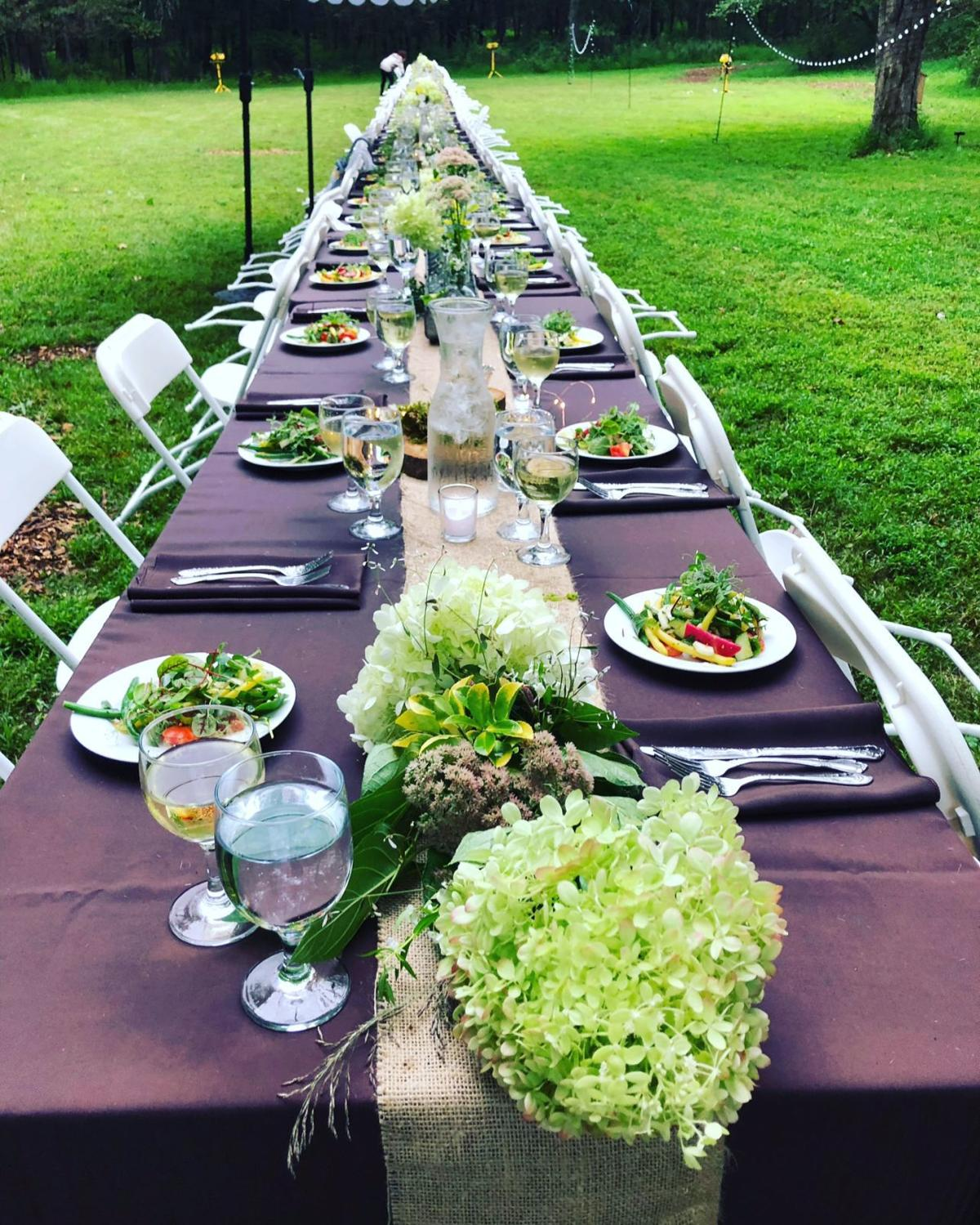 Tewksbury's Whittemore holds 1st annual Garden to Table dinner
