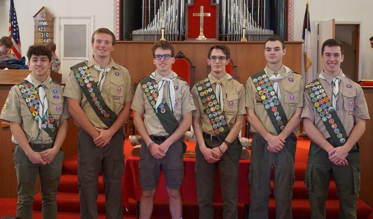 Six Lebanon Township Boy Scouts earn Eagle Scout rank