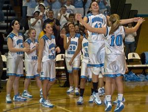 Morris Catholic girls defend MCT hoop crown