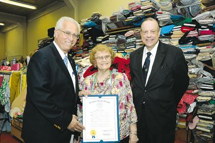 Long-time business lady bestowed honors in Chatham