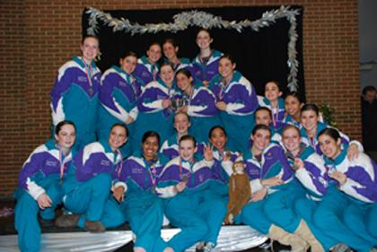 Precision skating teams earn third title