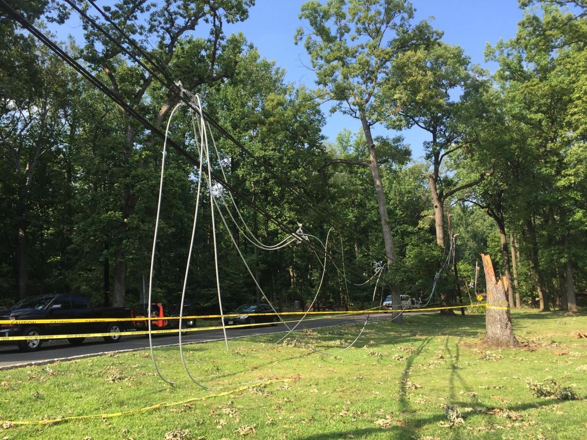 Power restoration effort continues in Warren Township