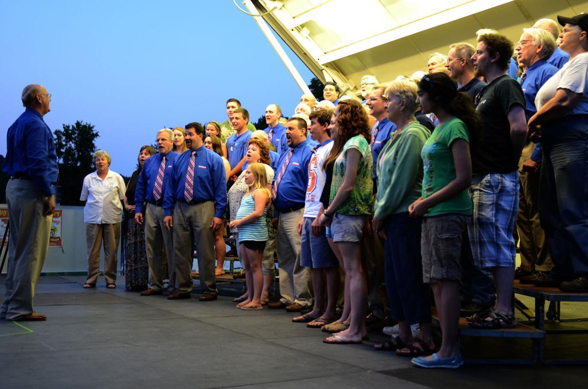 Hunterdon Harmonizers to sing under the stars on Thursday, July 22 ,at Deer Path Park in Readington