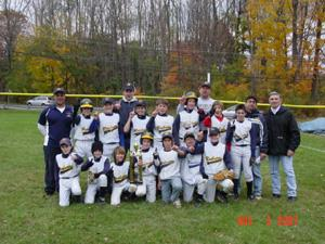 Raiders second in Cerbo Fall League