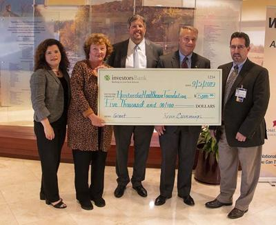 Investors Foundation awards $10k grant to Hunterdon Healthcare Foundation