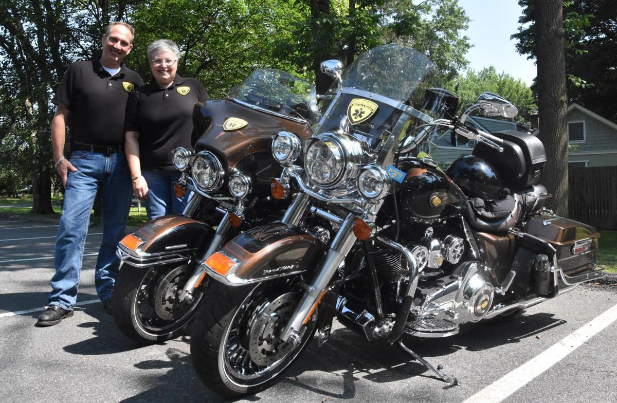 MOTORCYCLISTS ON MISSION