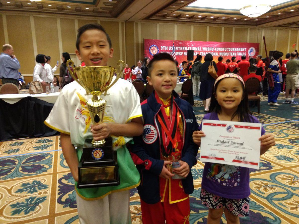 Millington's Sarreal wins six gold medals in wushu kung fu tournament