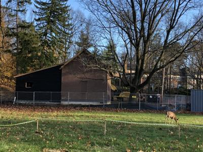 Visitors Center under construction