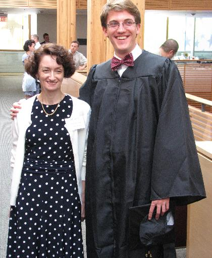 College graduate from Millington thanks a high school teacher by nominating her for a prize