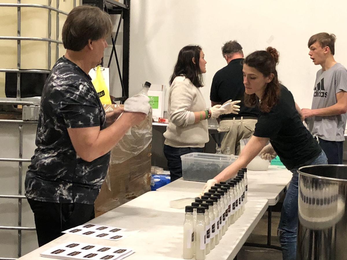 Bottling operation