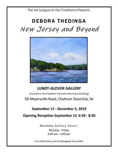 'NEW JERSEY AND BEYOND'