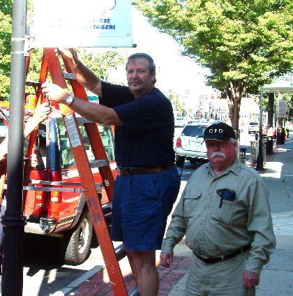 Fire Department gets Street Fair rolling