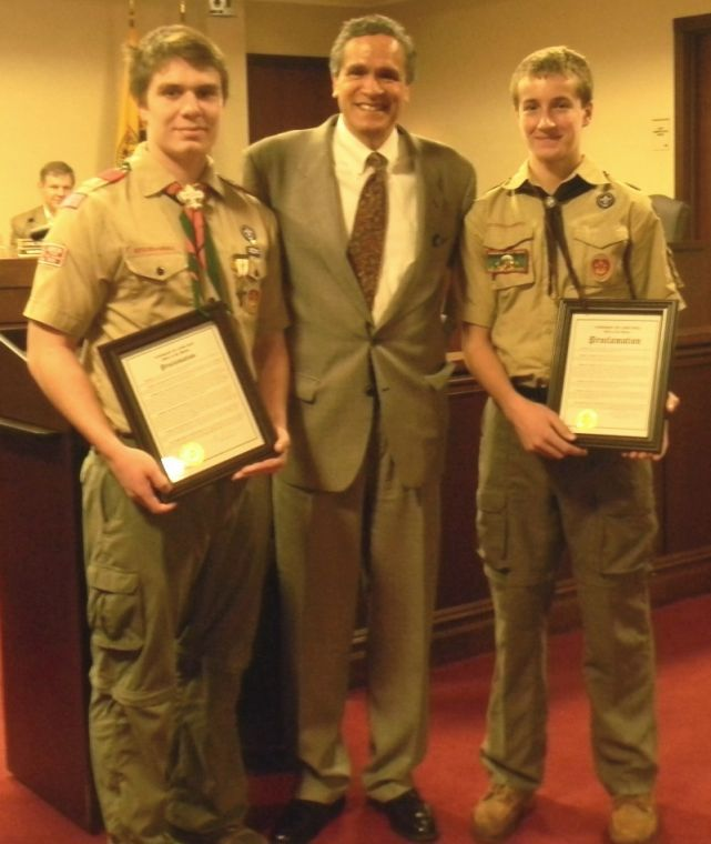 New Eagle Scouts