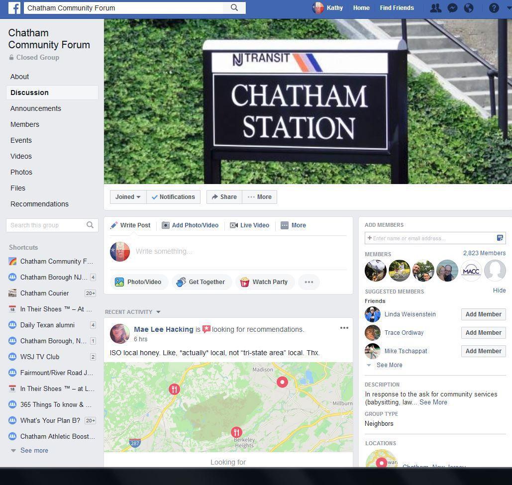 Chatham Community Forum