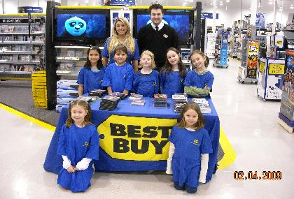 Best Buy on a computer lesson