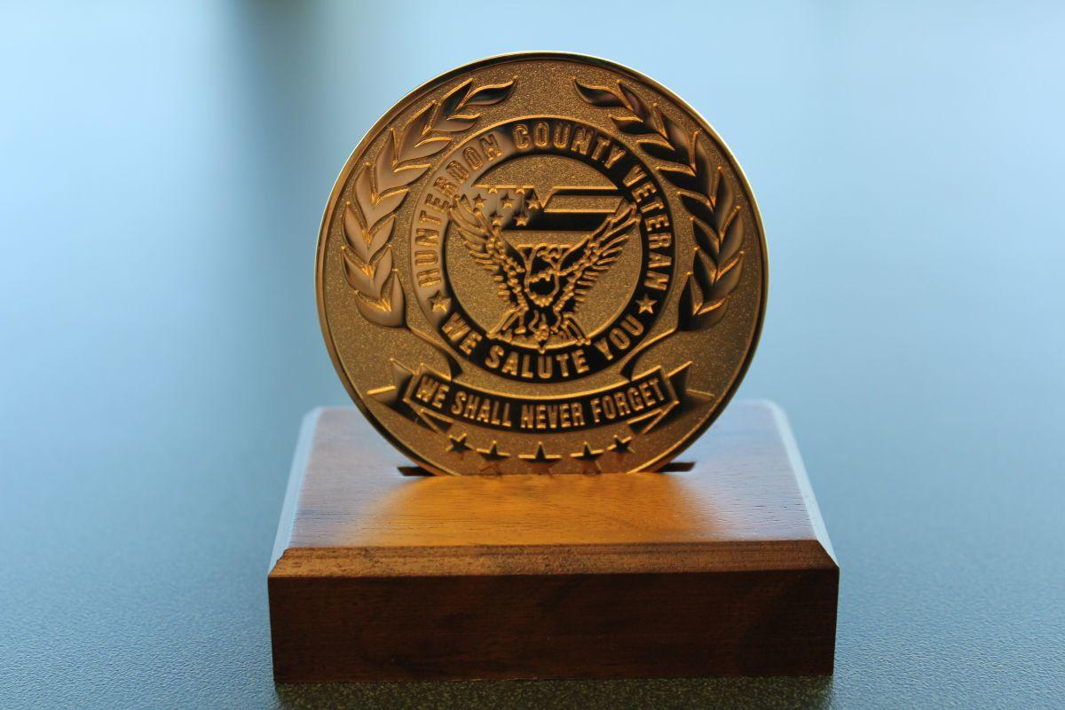 Hunterdon County veterans reminded to apply for Veterans Recognition Medal
