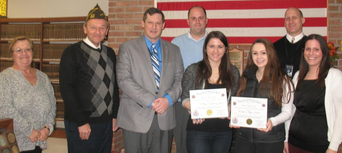 hanover park students recognized in essay contest honoring  essays recognize sacrifices of armed services