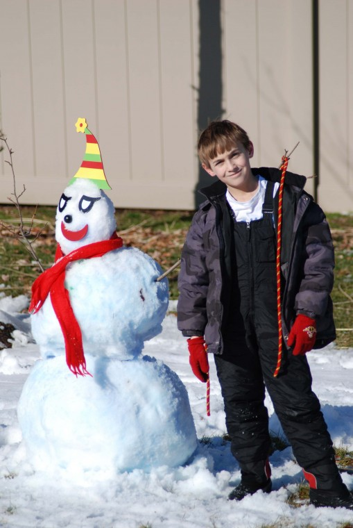 Ryan Orr's Winter Snowman