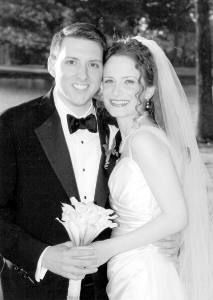 Miss Jennifer Marino and Roy Thibodaux III are wed