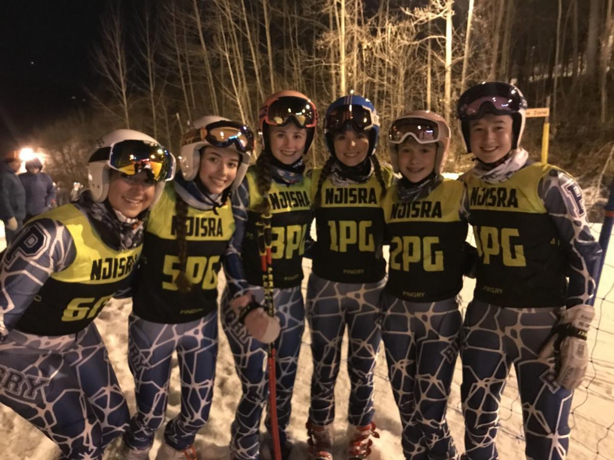 Pingry girls ski race