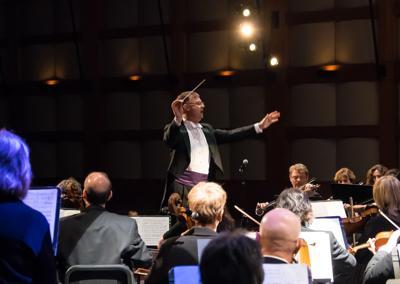 Maestro David Wroe and NJ Festival Orchestra