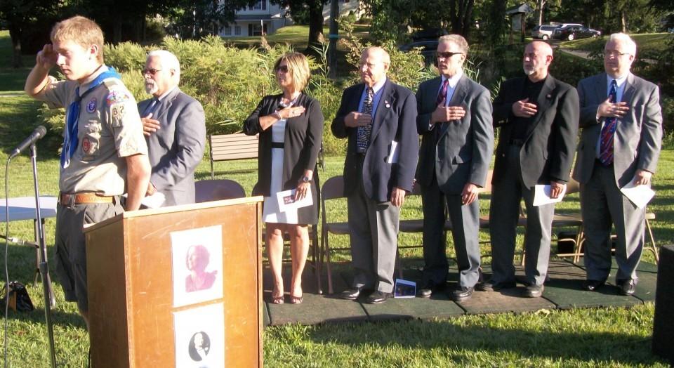 Watchung 9/11 Memorial Service