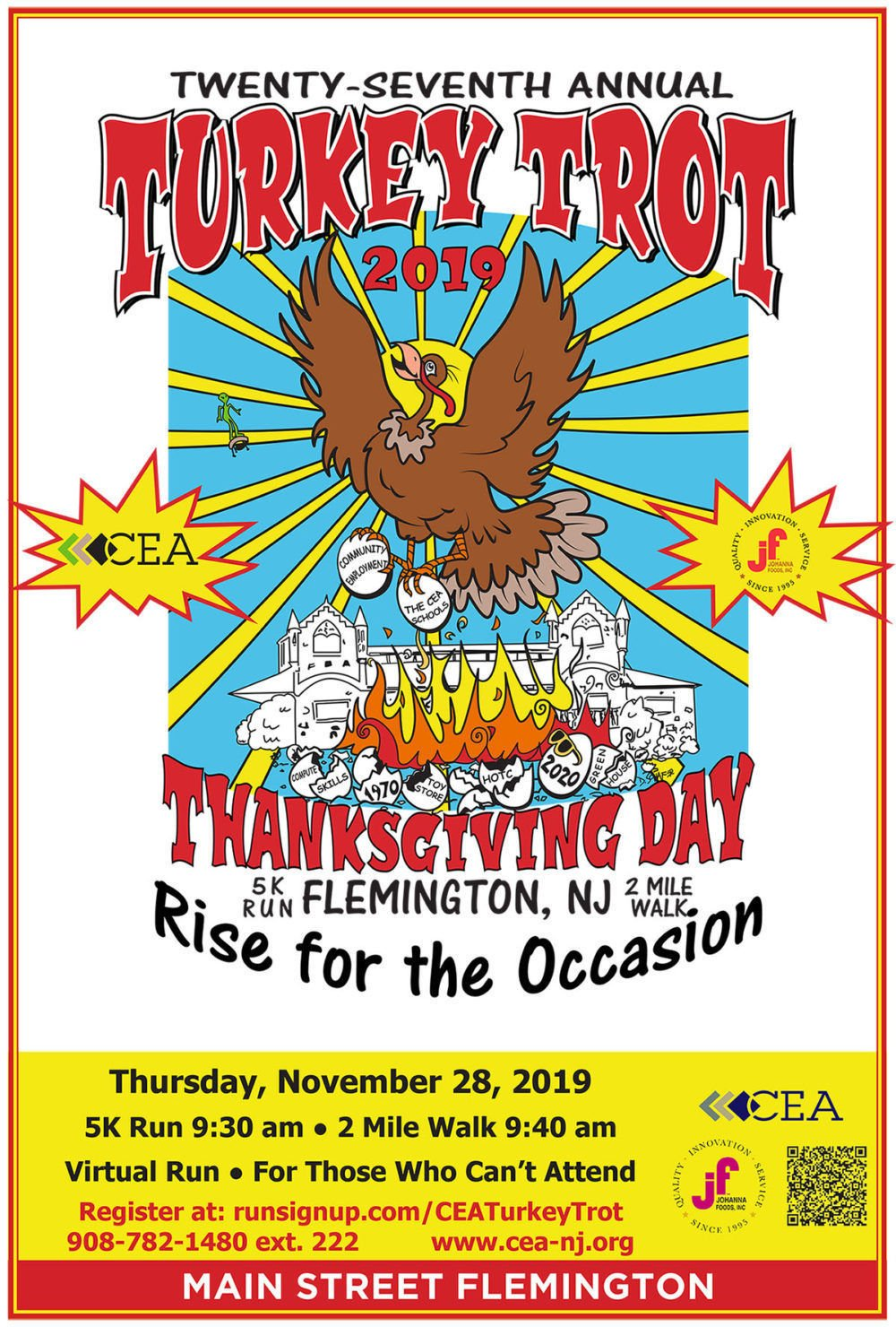 CEA Turkey Trot celebrates 27th anniversary on Thursday, Nov. 28