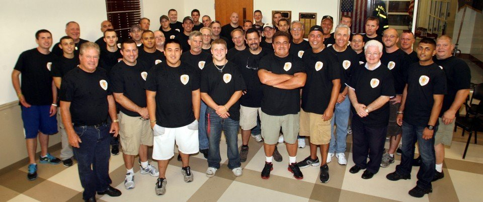West Caldwell's firefighters celebrate