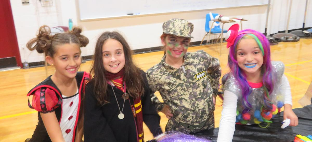 girl scout halloween fun