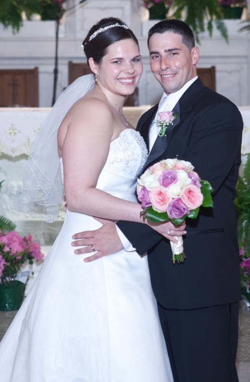 Kathryn Spittle and James Ammann are married
