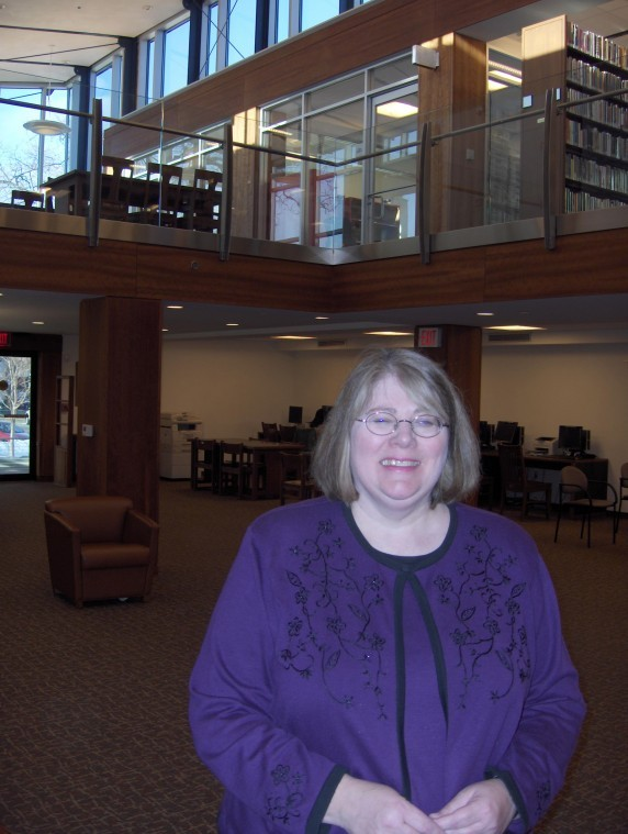Library's Maria Norton