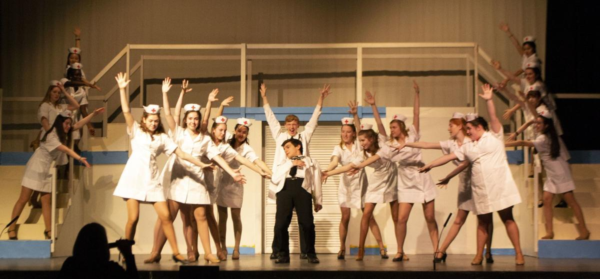North Hunterdon High School will present the musical 'Catch Me If You Can' this weekend