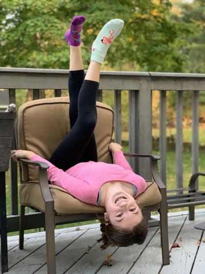 Long Hill's Grace Eline gives back during cancer journey -- one pair of socks at a time