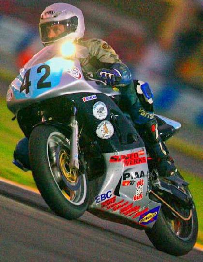 Califon Borough man loves the thrill of motorcycle racing
